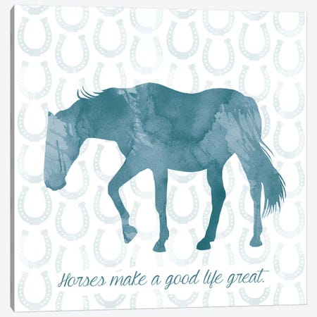 Horse Great Canvas Print #ECK272} by Erin Clark Canvas Artwork