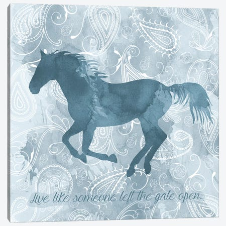 Horse Live Canvas Print #ECK273} by Erin Clark Canvas Wall Art