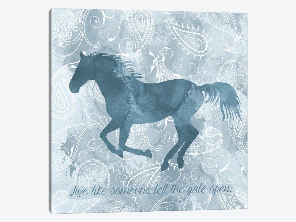 Horse Live by Erin Clark 1-piece Canvas Art