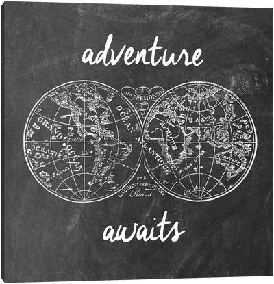 Adventure Awaits I Canvas Print #ECK27