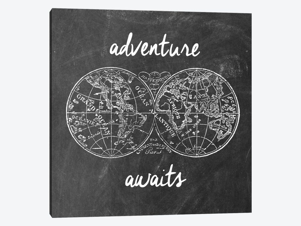 Adventure Awaits I by Erin Clark 1-piece Canvas Art