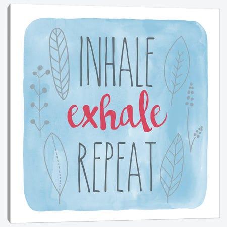 Inhale 3-Piece Canvas #ECK282} by Erin Clark Art Print