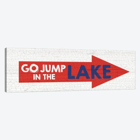 Jump Lake Canvas Print #ECK288} by Erin Clark Canvas Art Print