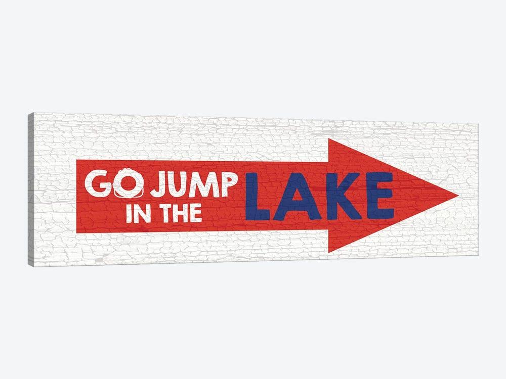 Jump Lake by Erin Clark 1-piece Canvas Artwork