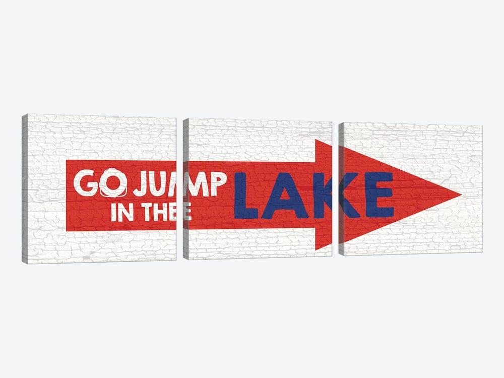 Jump Lake by Erin Clark 3-piece Canvas Wall Art