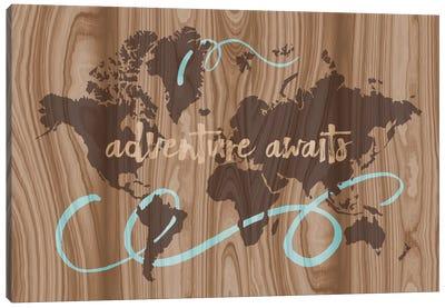 Adventure Awaits II Canvas Print #ECK28