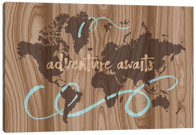 Adventure Awaits II Canvas Art Print
