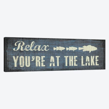Lake I Canvas Print #ECK290} by Erin Clark Canvas Wall Art