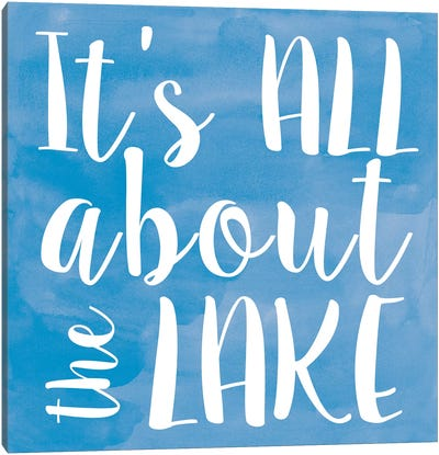 Lake II Canvas Art Print