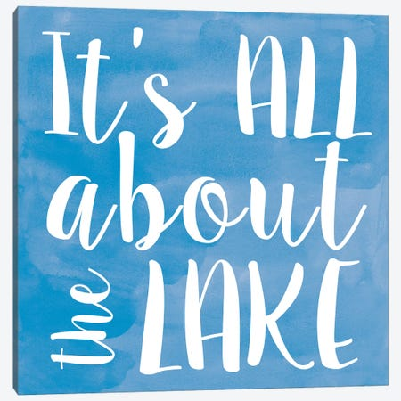 Lake II 3-Piece Canvas #ECK291} by Erin Clark Canvas Wall Art