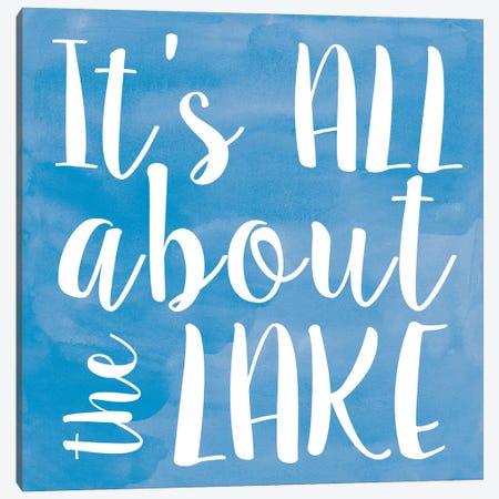 Lake II Canvas Print #ECK291} by Erin Clark Canvas Wall Art