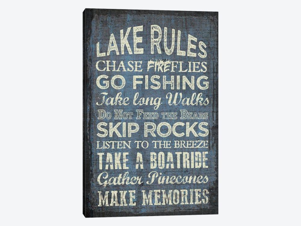 Lake Rules by Erin Clark 1-piece Art Print