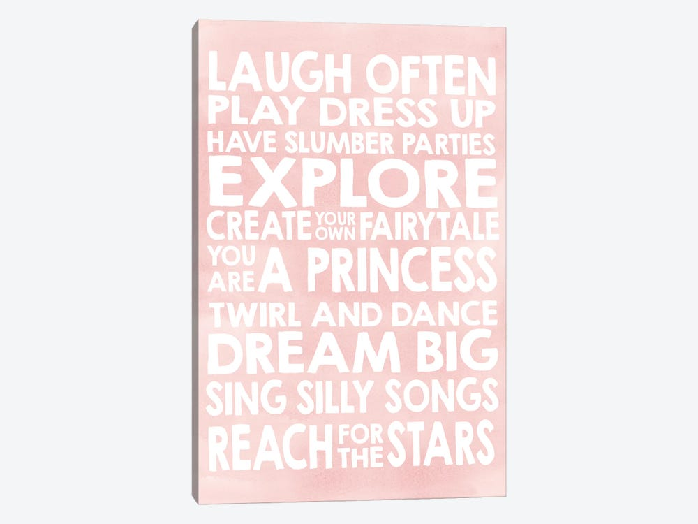 Laugh by Erin Clark 1-piece Canvas Art Print