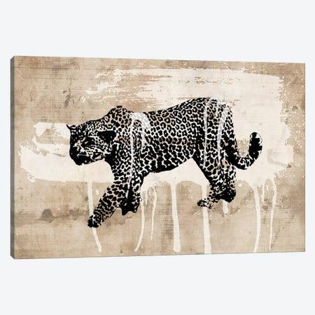 Leopard Canvas Print #ECK297} by Erin Clark Canvas Art Print