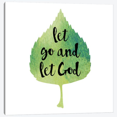 Let God Canvas Print #ECK298} by Erin Clark Canvas Art