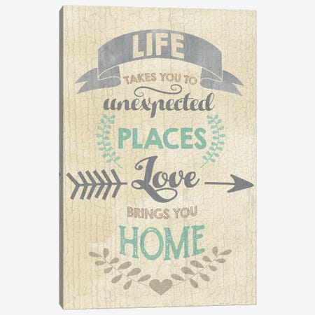 Life 3-Piece Canvas #ECK299} by Erin Clark Canvas Art