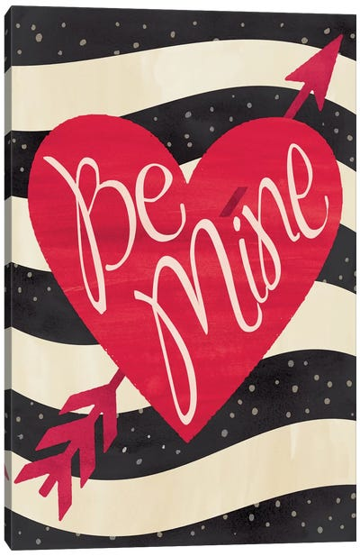 Be Mine Flag Canvas Art Print