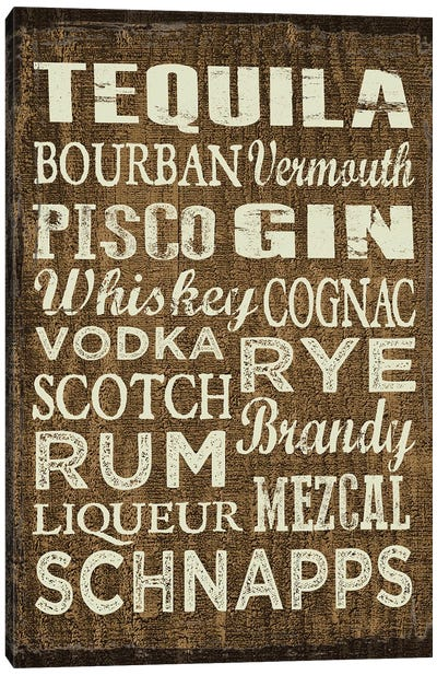 Liquor Sign II Canvas Art Print
