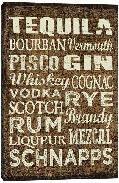 Liquor Sign II Canvas Art Print