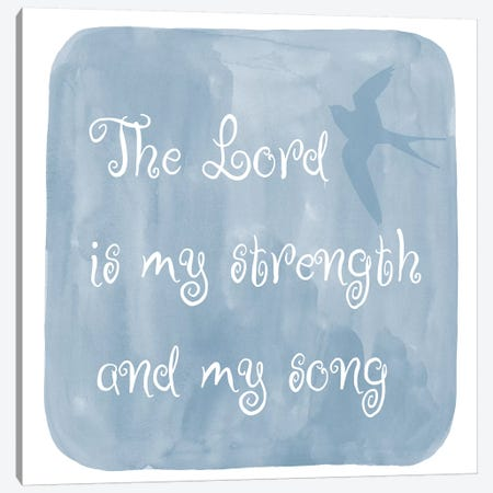 Lord Strength Canvas Print #ECK310} by Erin Clark Canvas Print