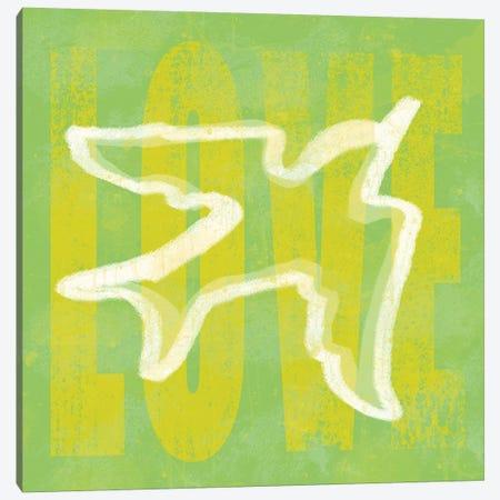 Love Dove Canvas Print #ECK313} by Erin Clark Canvas Art Print