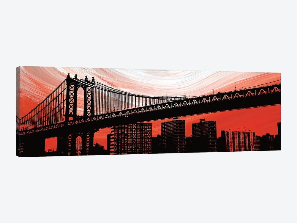Manhattan Bridge Aura by Erin Clark 1-piece Art Print