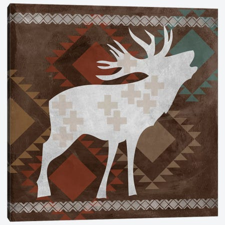 Moose I Canvas Print #ECK328} by Erin Clark Canvas Art