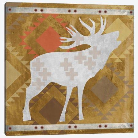 Moose II Canvas Print #ECK329} by Erin Clark Canvas Artwork