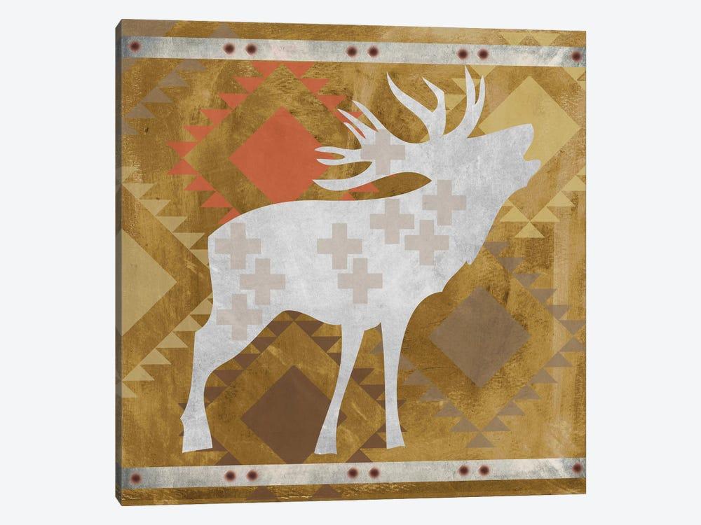 Moose II by Erin Clark 1-piece Canvas Art