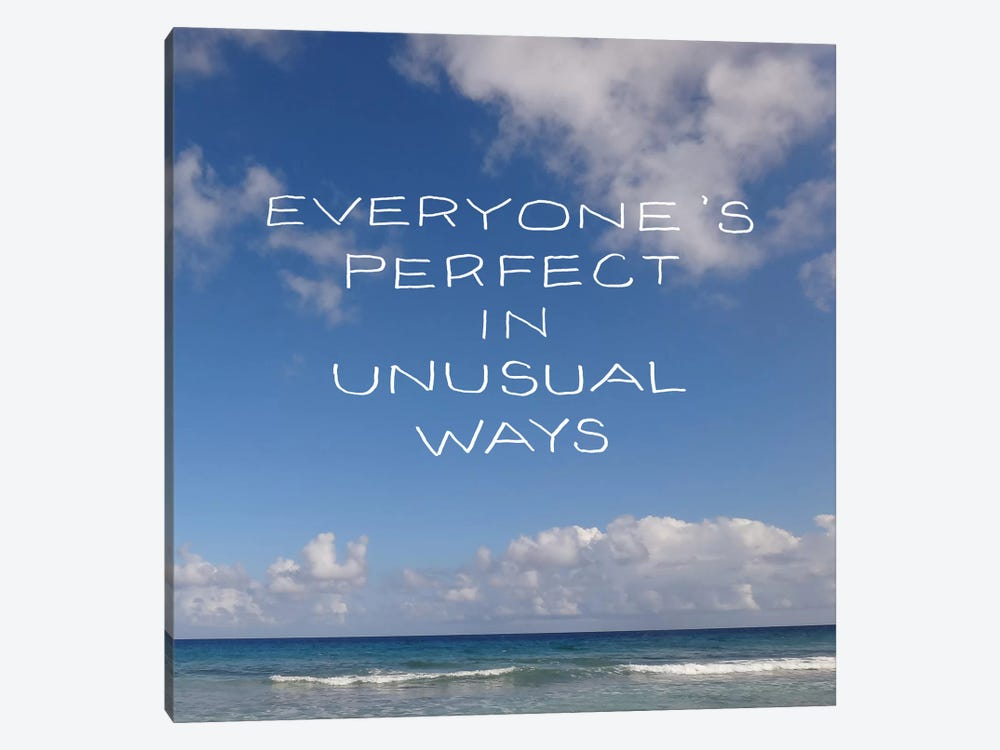 Beach Sayings III by Erin Clark 1-piece Canvas Art