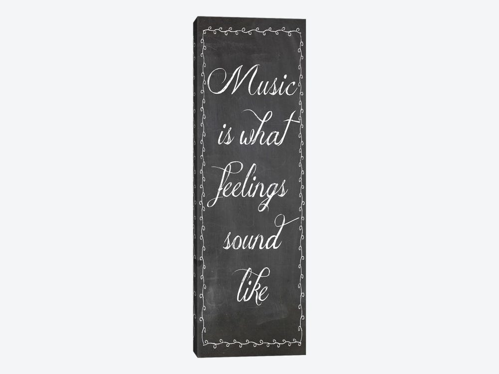 Music by Erin Clark 1-piece Canvas Wall Art