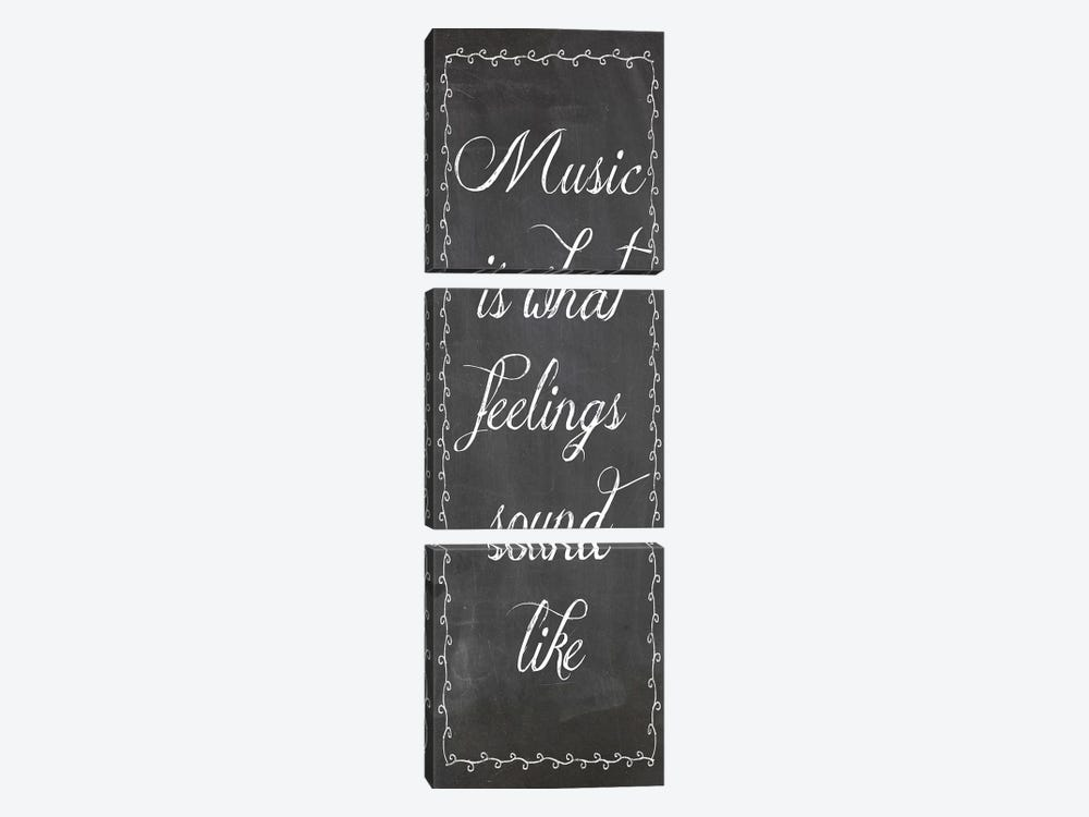 Music by Erin Clark 3-piece Canvas Wall Art