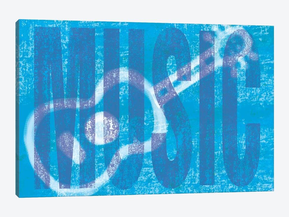 Music Love by Erin Clark 1-piece Canvas Print