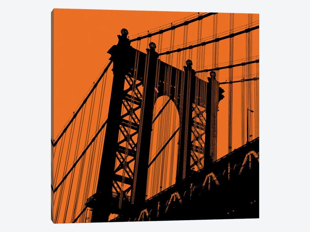 Orange Manhattan by Erin Clark 1-piece Art Print