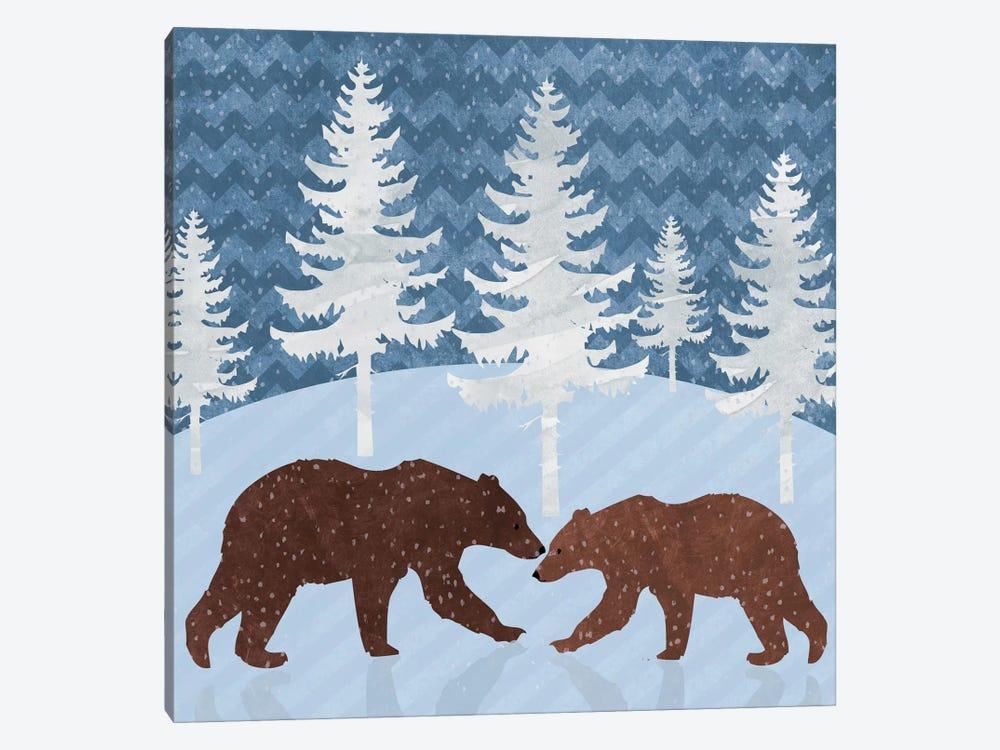 Bears by Erin Clark 1-piece Canvas Print