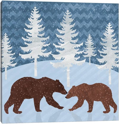 Bears Canvas Art Print