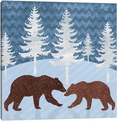 Bears Canvas Art Print
