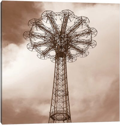 Parachute Jump Canvas Art Print
