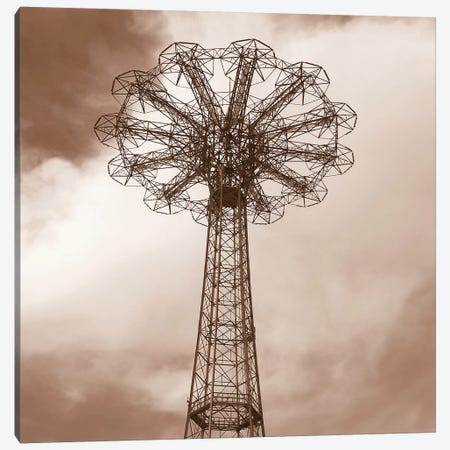 Parachute Jump Canvas Print #ECK341} by Erin Clark Canvas Wall Art