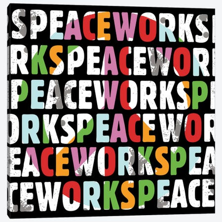 Peace Works Canvas Print #ECK353} by Erin Clark Canvas Print
