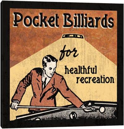 Pocket Billiards Canvas Art Print