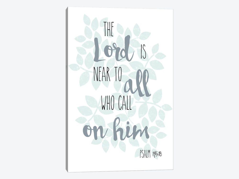 Psalm 145:18 by Erin Clark 1-piece Canvas Wall Art