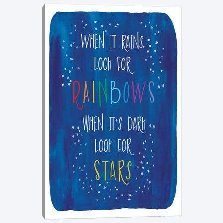 Rain Stars Canvas Print #ECK369} by Erin Clark Canvas Art