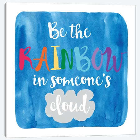 Rainbow Canvas Print #ECK370} by Erin Clark Canvas Art Print
