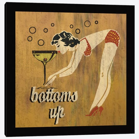 Bottoms Up Canvas Print #ECK37} by Erin Clark Canvas Wall Art