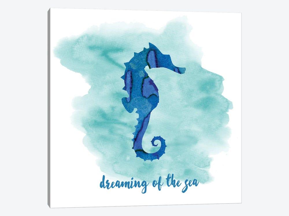Seahorse by Erin Clark 1-piece Art Print
