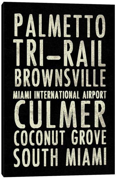 Miami Canvas Print #ECK3