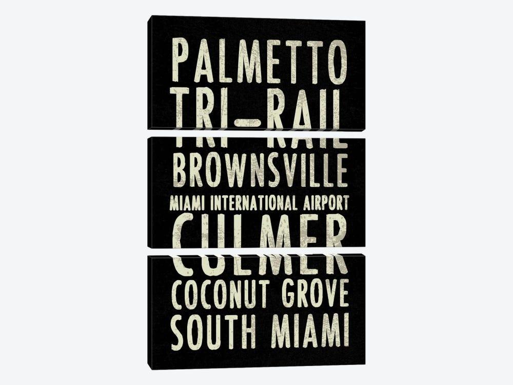 Miami by Erin Clark 3-piece Art Print