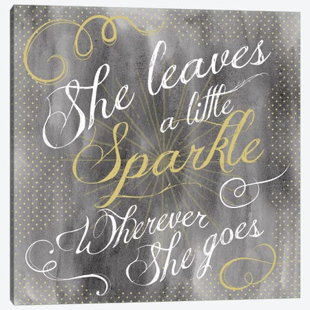 Sparkle II Canvas Print #ECK406} by Erin Clark Canvas Art