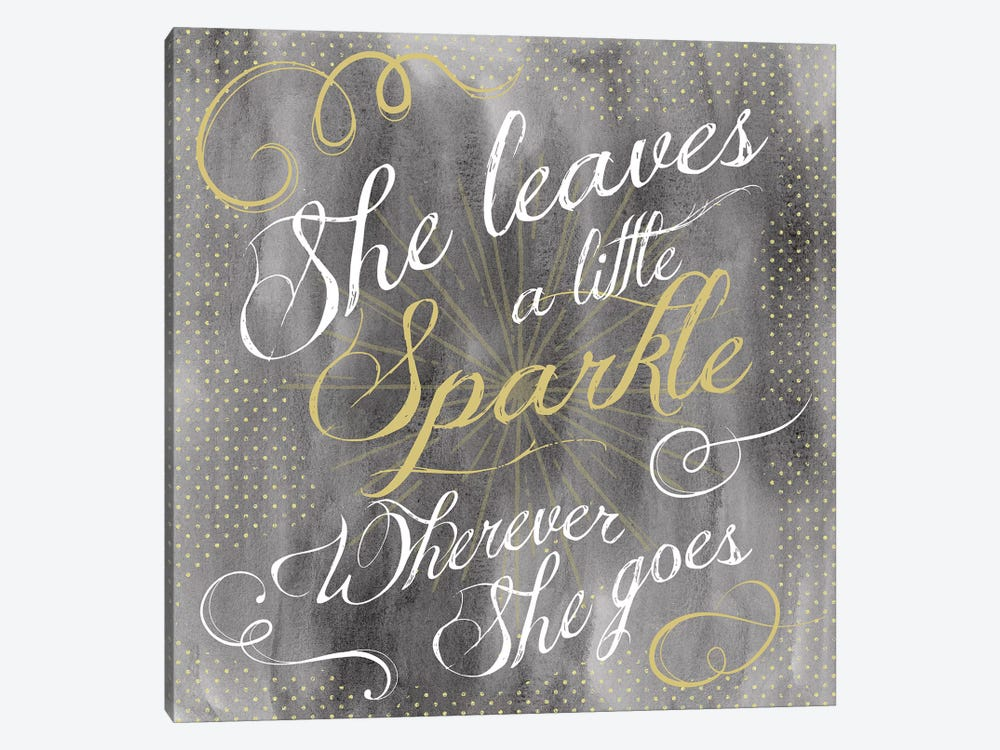 Sparkle II by Erin Clark 1-piece Canvas Art